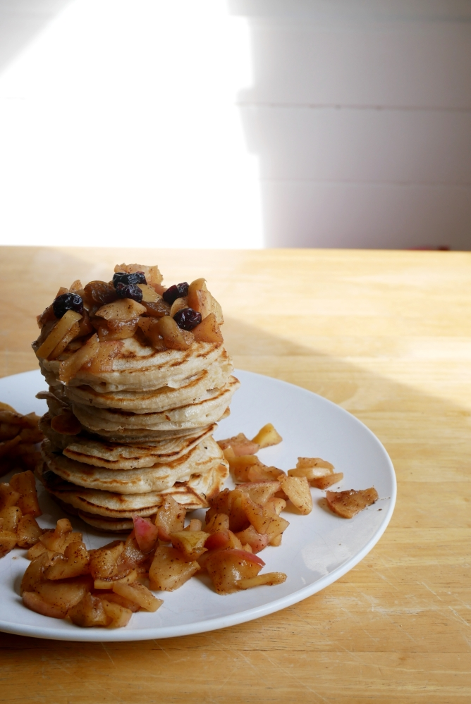 Vegan als Student: EasyPancakes