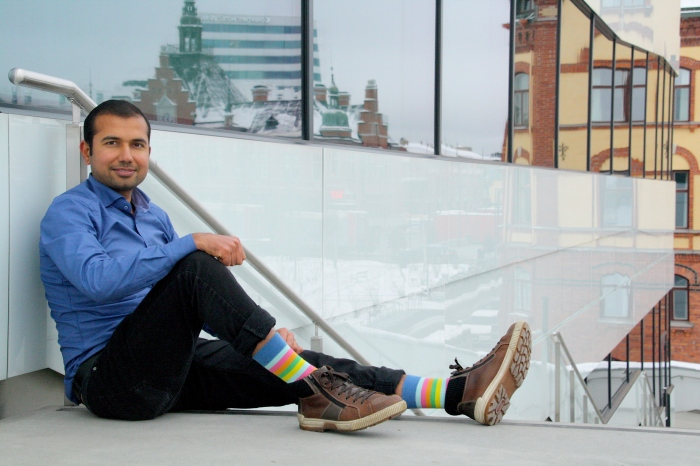 Interview with Mudassar, CEO of organic socks of Sweden