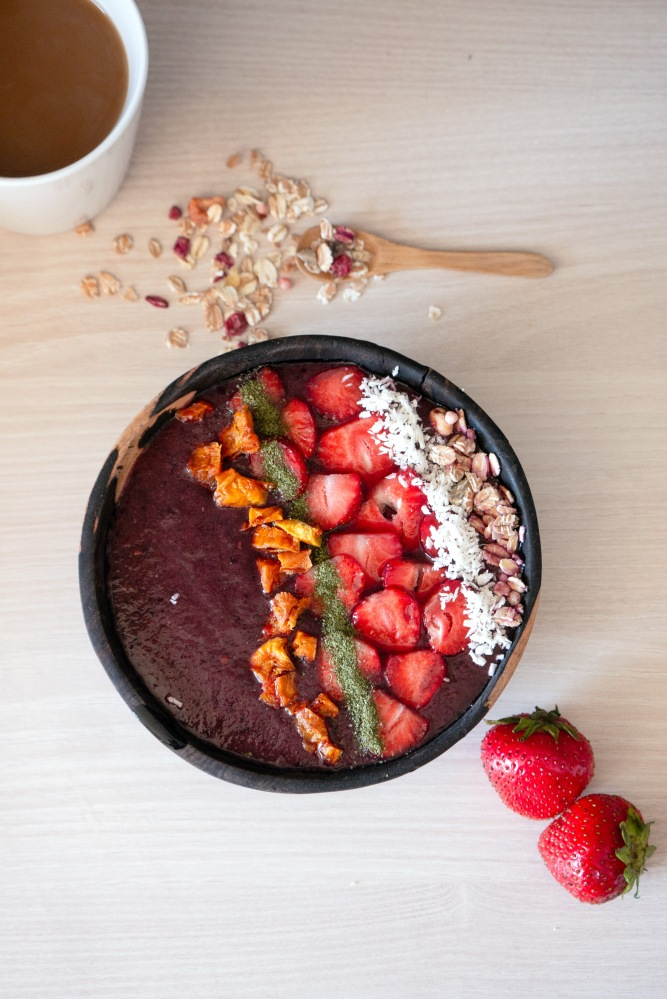 Vegan als Student: Smoothie Bowl